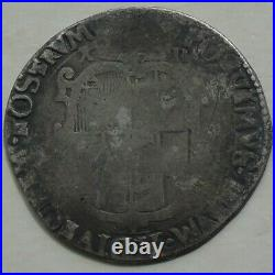 1555 Philip & Mary Silver Shilling English Titles Hammered Tudor Coin 31mm 5.84g