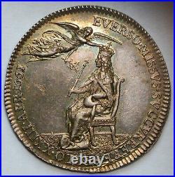 1661 Charles II Silver Coronation Medal by Thomas Simon