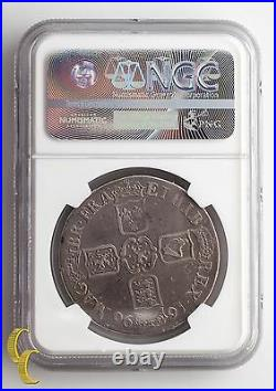 1696 England (Great Britain) Crown Graded VF DETAILS By NGC Silver Coin, KM# 486