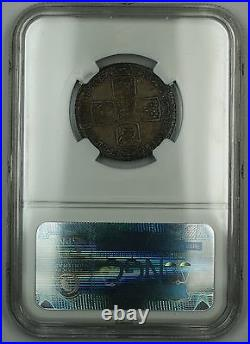 1763 Great Britain One Shilling Silver Coin ESC-1214 NGC MS-61 Uncirculated AKR