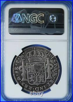 (1797-99) Great Britain Oval George III $1 C/S on 1790 Mexico 8 Reales NGC VF30