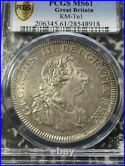 1804 Great Britain Bank Dollar $1 PCGS MS61 Lot#G216 Silver! KM#Tn1 Nice UNC