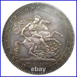 1818 Great Britain England George III Crown Coin Certified NGC MS61 (BU UNC)