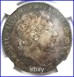 1819 Great Britain England George III Crown Coin Certified NGC XF Details (EF)