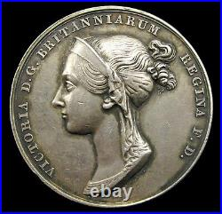 1838 CORONATION OF VICTORIA OFFICIAL 36mm SILVER MEDAL