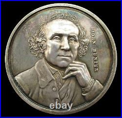 1850 ST GEORGE'S HOSPITAL LONDON 55mm SILVER'HUNTER' MEDAL BY WYON