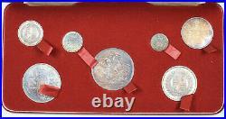 1887'specimen' Set Victoria British Silver Coins Superb