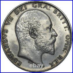1902 Matt Proof Halfcrown Edward VII British Silver Coin Very Nice