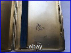 1933 Quality Vintage R. A. F. Harrods Silver Cigarette Case