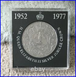1952-1977 H. M. Queen Elizabeth II Silver Jubilee Crown, NatWest