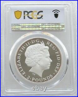 2014 Great Britain Britannia £2 Two Pound Silver Proof 1oz Coin PCGS PR70 DCAM