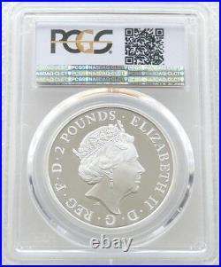 2016 Great Britain Britannia £2 Two Pound Silver Proof 1oz Coin PCGS PR70 DCAM