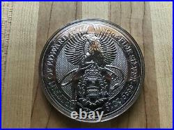 2018 Queens Beast 10 oz Griffin of Edward III Silver Coin BU Great Britain