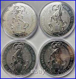 2020 Great Britain 10 oz Silver Queen's Beasts The Yale