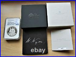 2020 Great Britain 2oz Three Graces silver Proof £5 coin NGC PF 70 Ultra Cameo