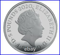 2020 Great Britain James Bond Shaken Not Stirred 2 oz Silver Coin NGC PF 69