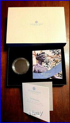 2021 2pd Great Britain 1oz Silver Britannia Portrait Ngc Ms70 Dpl First Releases