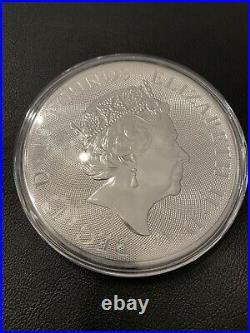 2021 Great Britain 10 oz Silver Britannia Coin