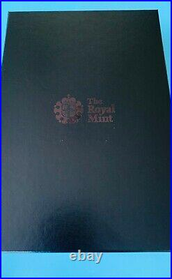 2021 The Queen's Beasts Completer 1kg 1 Kilo Silver Proof Coin UK In Hand COA 73