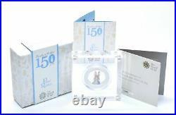 50p Silver Coin 2016 Beatrix Potter Colour Peter Rabbit Proof BOX + COA RARE R1