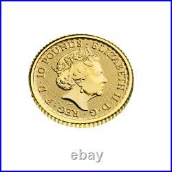 Britannia 2021 1/10 OZ Gold Or Argent Großbritannien Great Britain Royaume-Unis