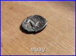 Celtic Iron Age Britain Boar Horse Silver Unit 0.91 Grams R01GB
