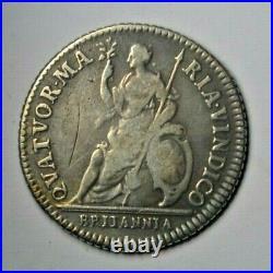 Charles II, pattern farthing in silver 1665, Peck 414, scarce