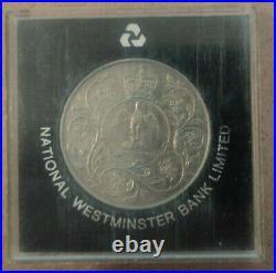 Elizabeth. II DG. REG FD 1977 coin Commemorative Queen Elizabeth Silver Jubilee