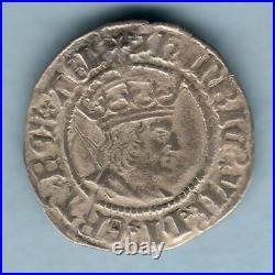 Great Britain. (1504-09) Henry VII Halfgroat. MM-Martlet. York Mint. Fine+
