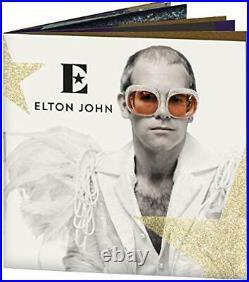 Great Britain 2020 £10 Music Legends ELTON JOHN Silver Proof 5 oz Coin Box Coa