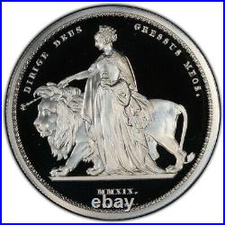 Great Britain Silver Proof £5 Una and the Lion 2 oz PCGS PR69DCAM Coin