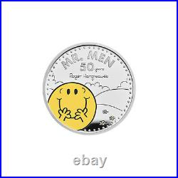 Mr Men Collection £2 Official Royal Mint One Ounce Silver Proof Two Pound Coin