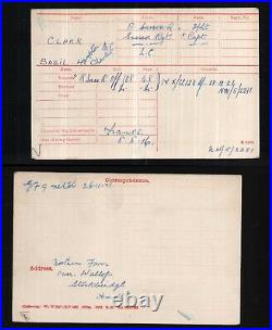 Original WWI Silver Military Cross Sussex Regiment Basil Clark Captain