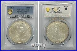 PCGS Great Britain 1899 B Mint China Hong Kong Trade Dollar Silver Coin AU