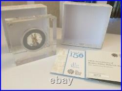 Royal Mint Beatrix Potter 2016 Peter Rabbit Silver Proof Colour UK 50P Boxed COA