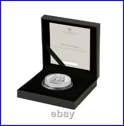 Royal Mint Great Engraver's The Three Graces 2020 Silver Proof Two Ounce Rare