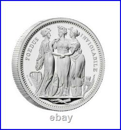 Royal Mint Great Engraver's Three Graces 2020 Silver Two and Five Ounce Silver