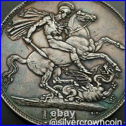SCC Great Britain UK 1 Crown 1821 SECUNDO. KM#680.1.925 Silver Dollar coin