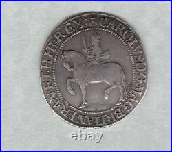 Scotland 1637 To 1642 Charles I Silver 30 Shillings In Good Fine To Very Fine