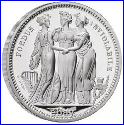 THREE GRACES ROYAL MINT THREE SILVER PROOF COINS IN 10oz, 5oz, 2oz, VERY RARE