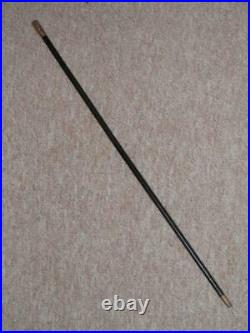 Victorian Military Swagger Stick The 1st Gloucestershire Regiment Silver Top