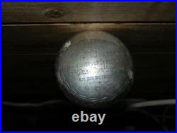 WW1 53 Div of Welsh Signals Hallmarked 1918 Silver Military Walking Stick/Cane